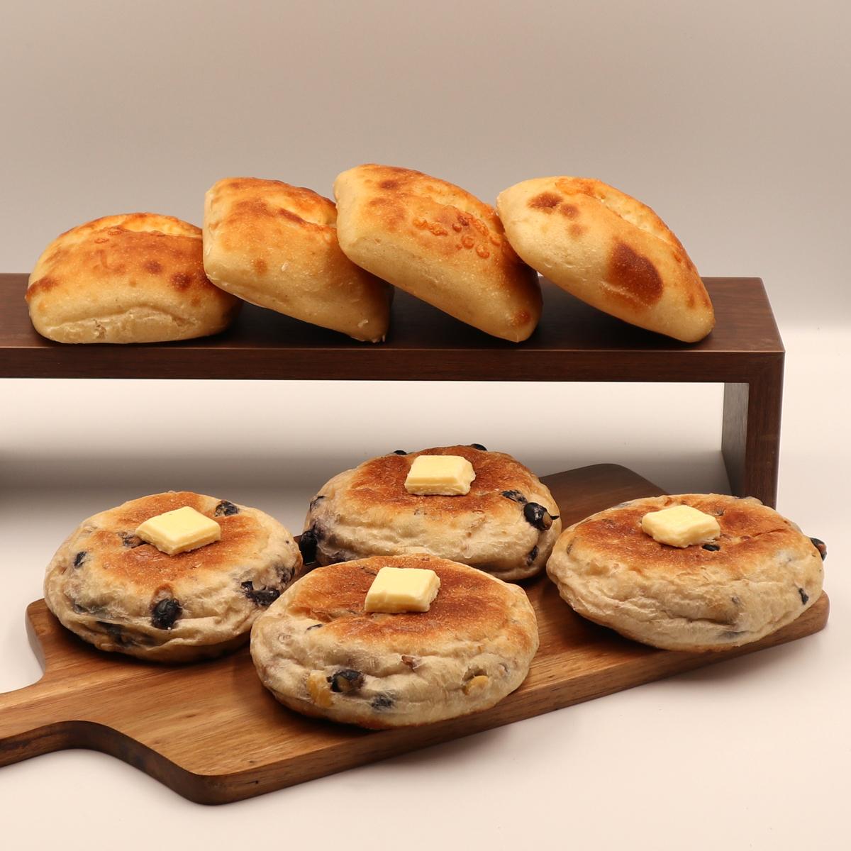 【NEW】十勝チーズパンととやま農場の黒豆塩バターパンセット