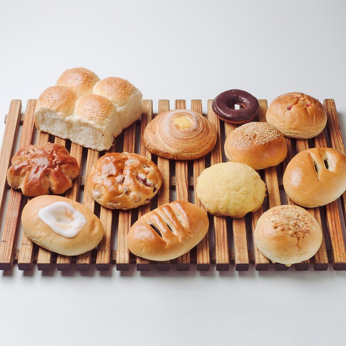 懐かしの菓子パンセット