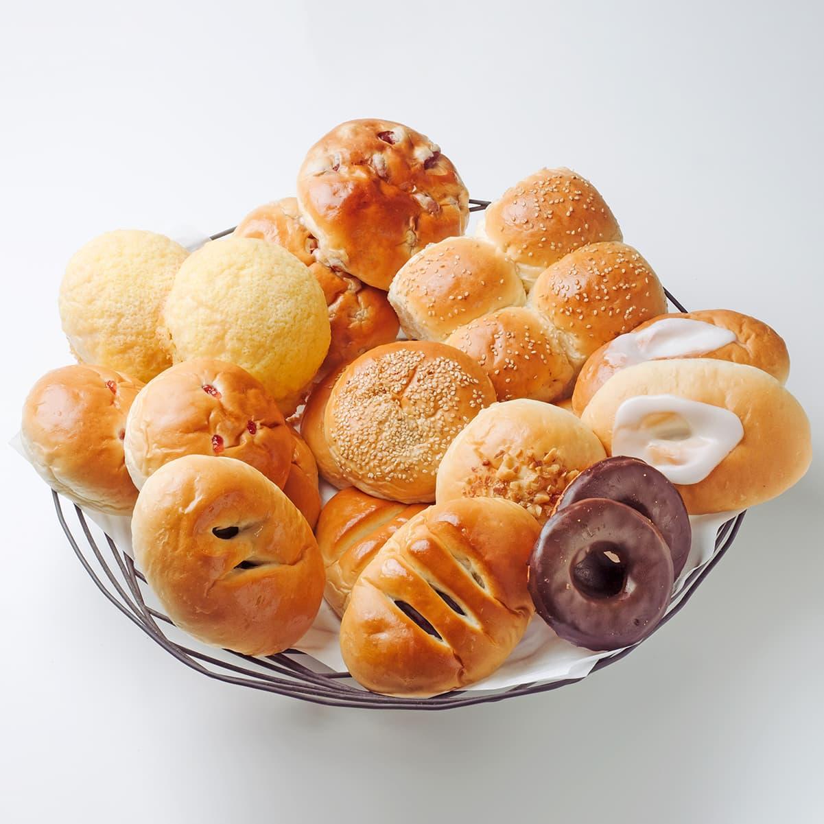 【贈り物人気NO1】懐かしの菓子パン ファミリーセット