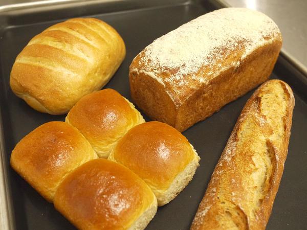 パンの開発について ディンケル小麦100%